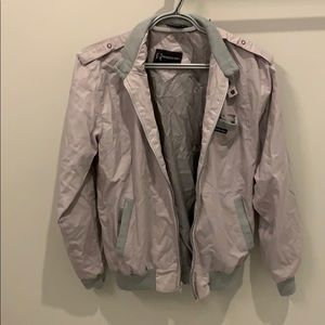 MEMBERS ONLY Bomber Jacket Size 36